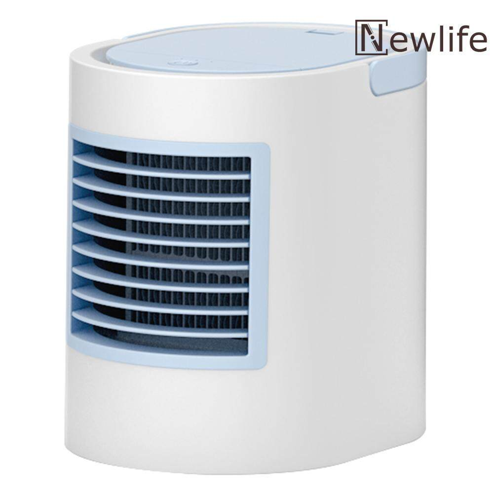 Newlifestyle 380mL USB Mini Air Conditioner Humidifier Purifier Air Cooling Fan for Home