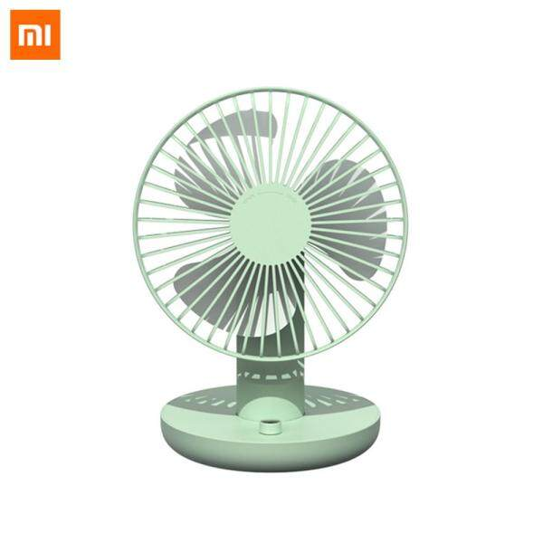 New Xiaomi Mijia Mini Rechargeable Outdoor Summer Cooling Fan Ballet Style Head Shaking USB Fan Desktop Ventilator Stepless Speed Regulation Fan