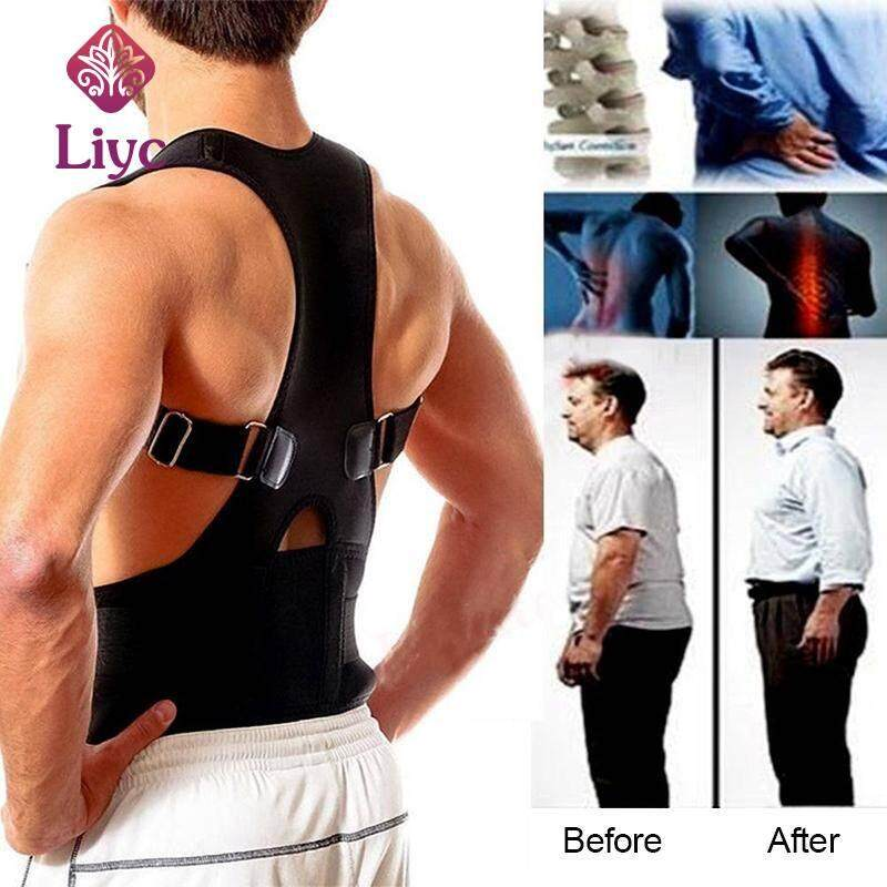 Liyc Back Posture Corrector Shoulder Lumbar Brace Spine Support Belt Adjustable Adult Corset Posture Correction Belt Body Health Care
