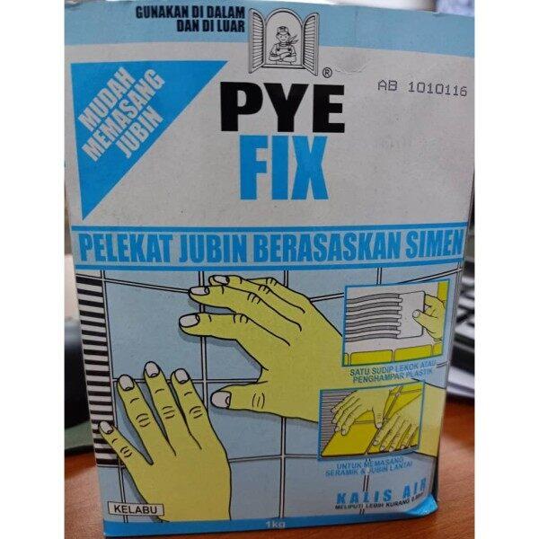 Cement Based Waterproof Tile Adhensive (Interior & Exterior) PYE Fix 1kg.