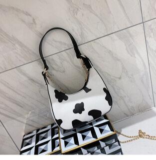 AE Ladies Hình Sữa Túi Xách Túi Đeo Vai Hình Lưỡi Liềm thumbnail