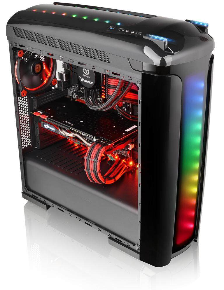 THERMALTAKE VERSA C22 RGB MID TOWER CASE - BLACK Malaysia