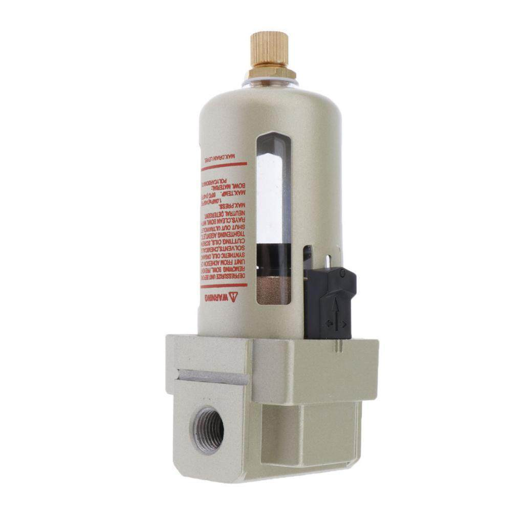 BolehDeals AF3000-02 1/4 SMC Air Source Treatment Water Moisture Air Filter Regulator