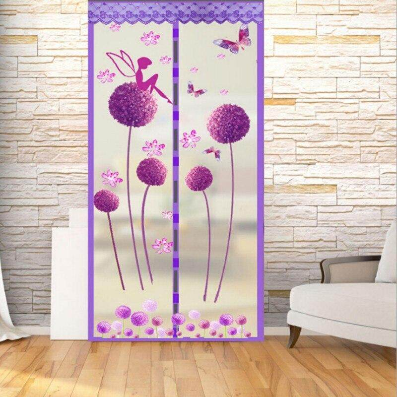 Encryption Magnet Mosquito Net Curtains Tulle Window Door Screen Magnetic Moustiquaire Porte-in Window Screens from Home