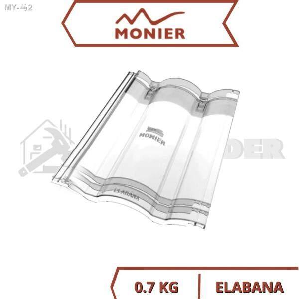 MONIER Elabana Toplight Roofing Tiles Transparent Roof Tiles Clear Roof Tiles Atap Clear Atap Transparent