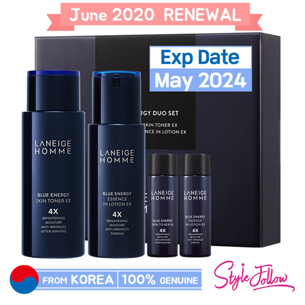Buy ❤️Sale❤️[LANEIGE] Homme Blue Energy Duo Set (Include 4 items) ▶June 2020 Renewed Product Singapore