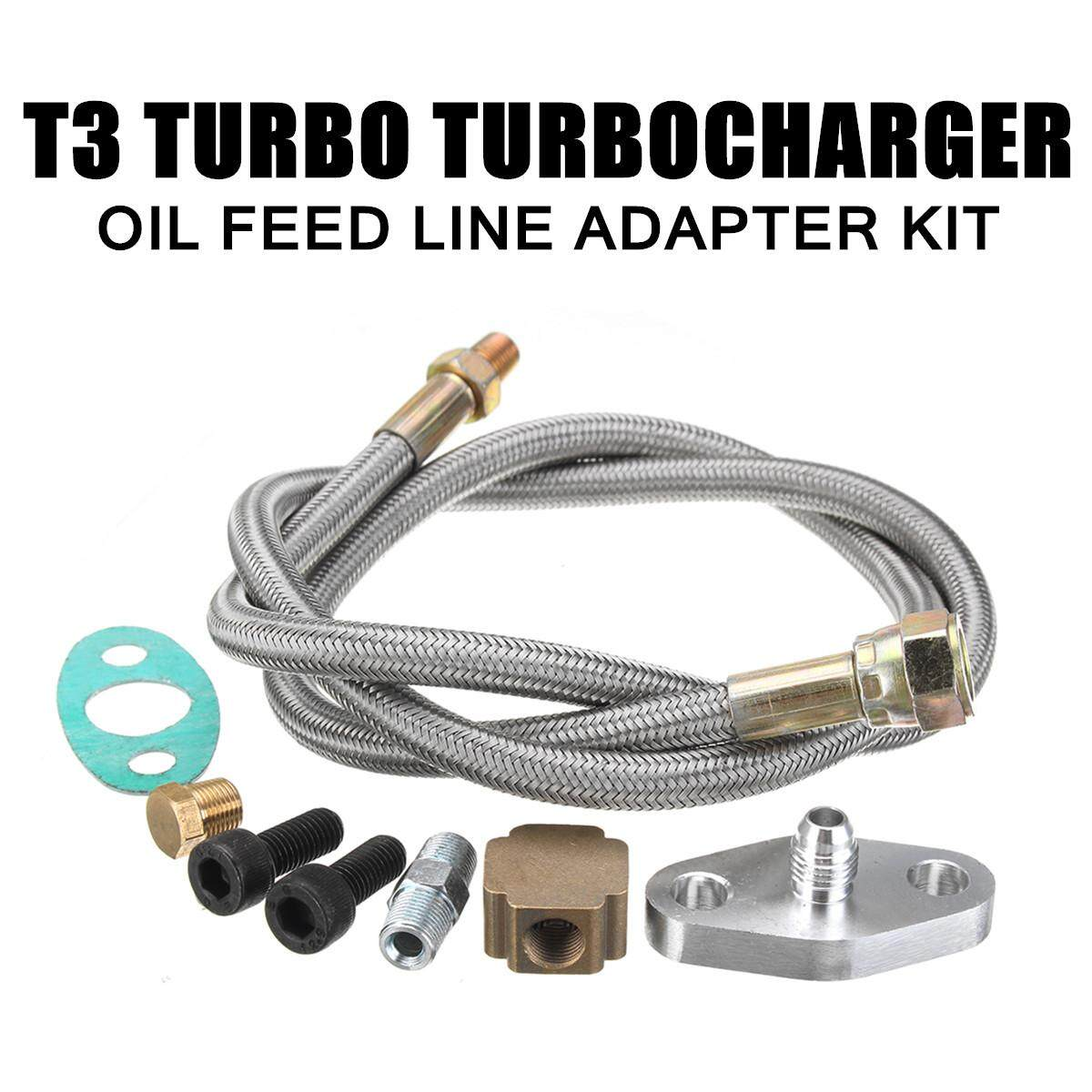 T3Turbo Return Line & Feed Line T3 Kit Fit Universa