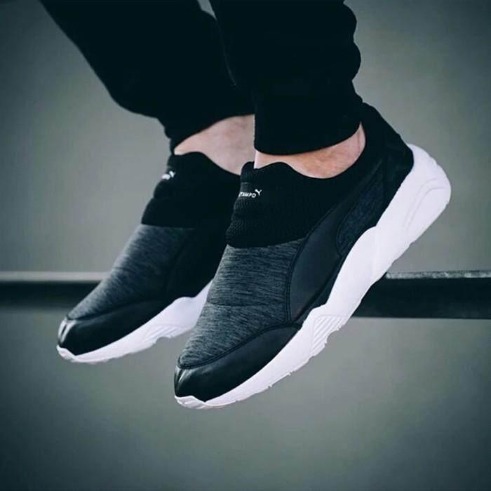Brand ★★ kickshop Pumas Trinomic Sock Stamp X 'D Leisure Men'S 359812-02-01 Running Shoes