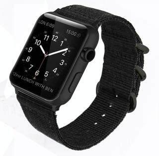 Dây Đeo Cho Apple Watch Dây Đeo Dây Đeo Iwatch 44Mm 40Mm Dây Đồng Hồ Đeo Tay Dây Đeo Nylon Nato 42Mm 38Mm Cho Apple Watch, 4 3 2 1 thumbnail
