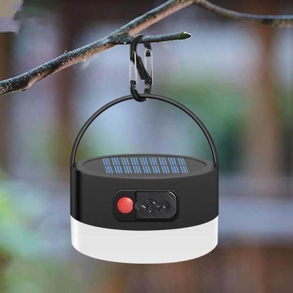 Big House 5V 0.3W 300lm LED Chống Nước 4 Chế Độ Làm Mờ Đèn Cắm Trại Năng Lượng Mặt Trời Có Thể Sạc Lại