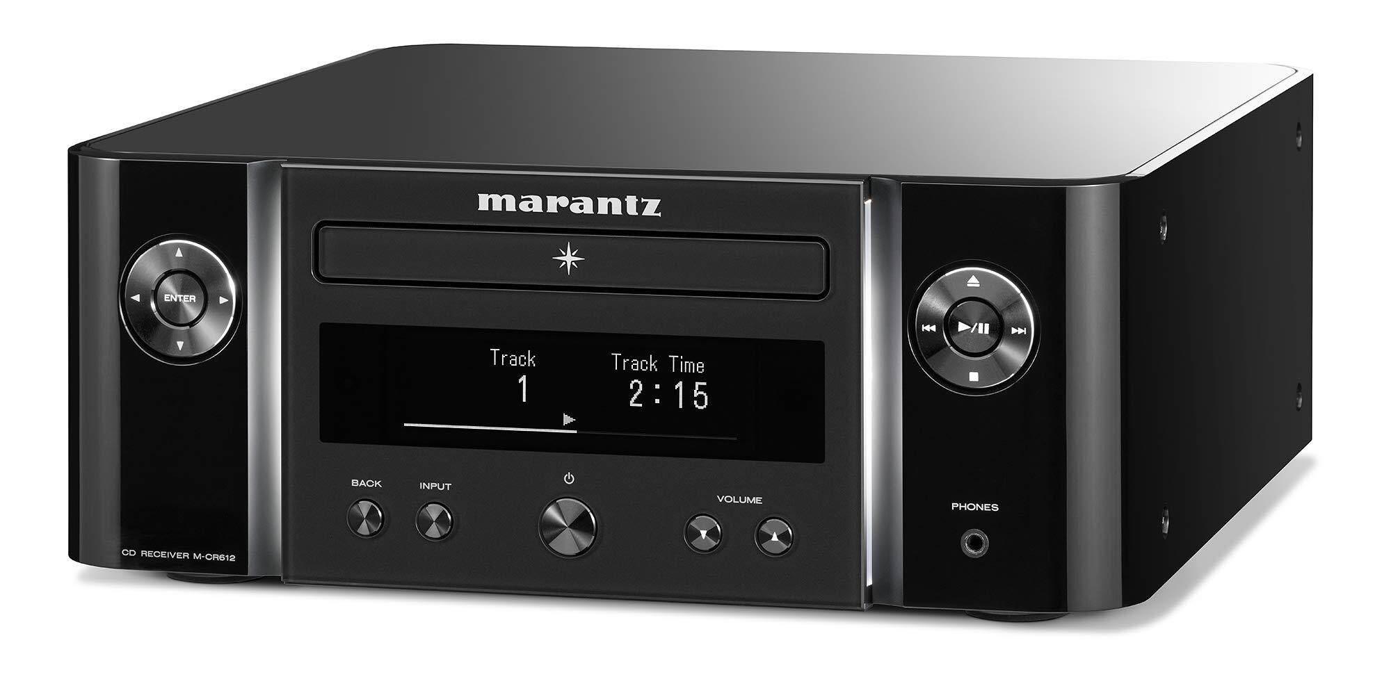 marantz CD receiver Bluetooth · Airplay2 wide FM corresponding / hi-res  sound source corresponding black M-CR612