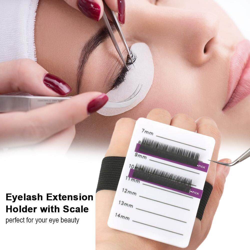 Eyelash Extension Supplies Lashes Extension Holder Scale Tray Stand Strip of Lashes Grafting Tool 1# (7-14mm)