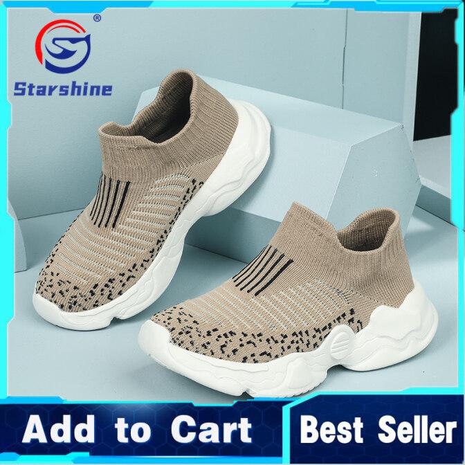 Starshine Giày Tất Trẻ Em Thời Trang Mới 2021 Giày Cho Trẻ Tập Đi Có Đế Mềm Nhẹ Và Thoải Mái Thêu Lưới, Giày Thể Thao Mỏng Thoáng Khí Cho Bé Trai Và Bé Gái Giày Bọc Một Bước giá rẻ