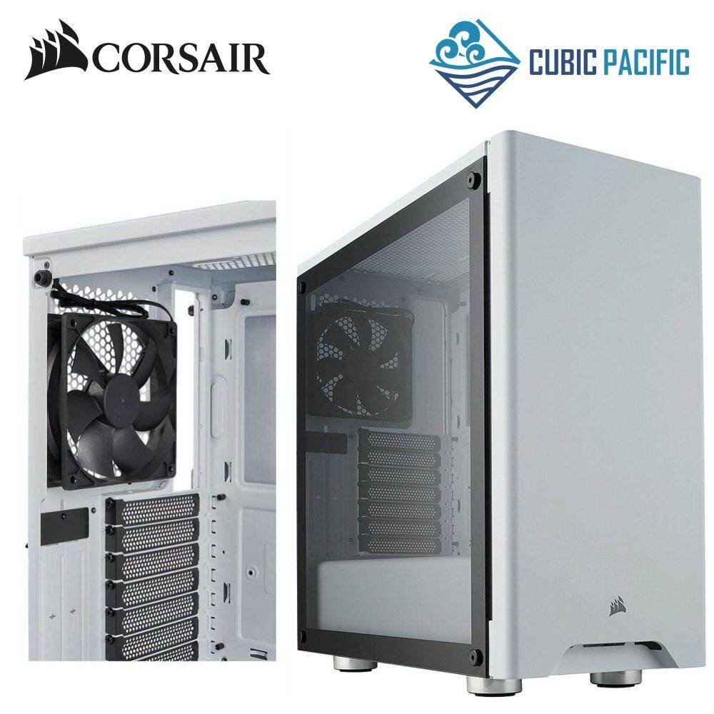 CORSAIR Carbide Series 275R Tempered Glass Mid-Tower Gaming Case - White (CC-9011133-WW) Malaysia