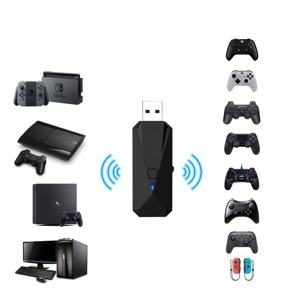 Bộ Chuyển Đổi Tay Cầm Chơi Game Có Dây Và Bluetooth Không Dây USB Cho Nintend Chuyển Đổi, Bộ Điều Khiển Joy Pad/Pro/PS4/P3/PC/Wi IU/XboxOne/S/360