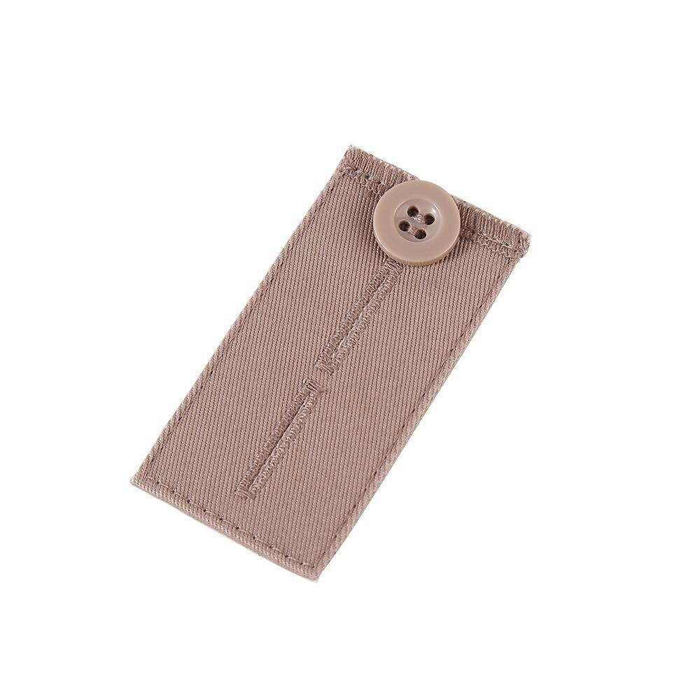 Button Fabric Belt Extension Buckle Obese Belt Extension Elastic Adjustment Elastic Buckle By Diamonds Store..