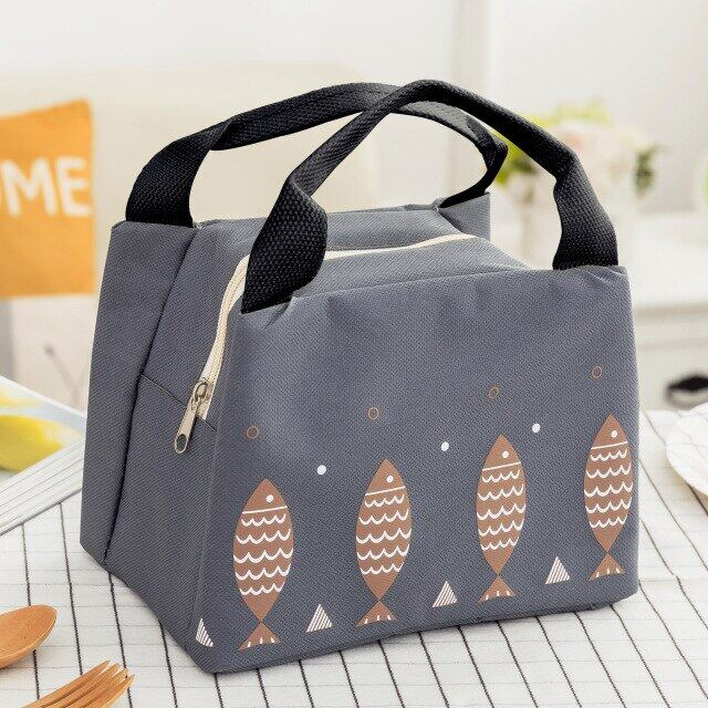 Insulated Durable Carry Cooler Outdoor Picnic Food Tote Cute Lunch Bags For Women Kid Men Lunch Box Storage Lunch Box.