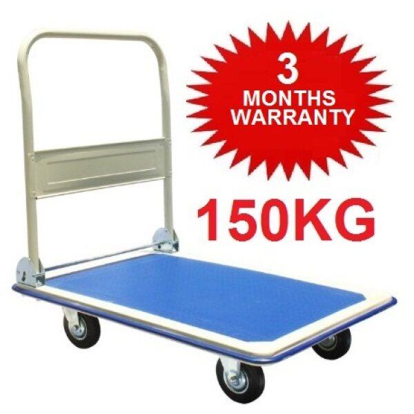 High Quality Iron 150kg Foldable Platform #CP07 Hand Truck Trolley Kerusi Kereta Tolak Besi Bull