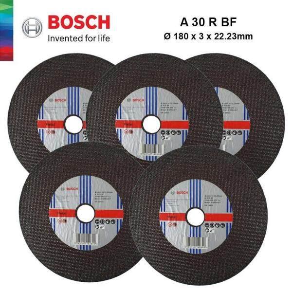 BOSCH 1pcs Metal Straight Cutting Disc (180mm x 3mm x 22.23mm) - 2608600272 - 3165140142649