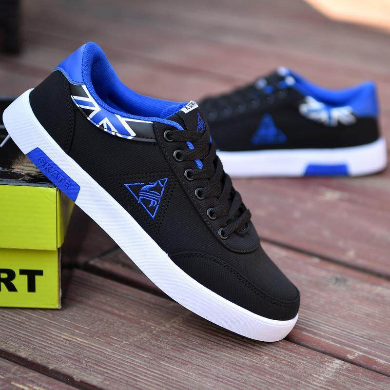 c79a7b327c809e Spring Teenager Casual Shoes Canvas Men's Shoes Korean Style Students Cloth  Shoes Sports Versatile Sneakers Trend