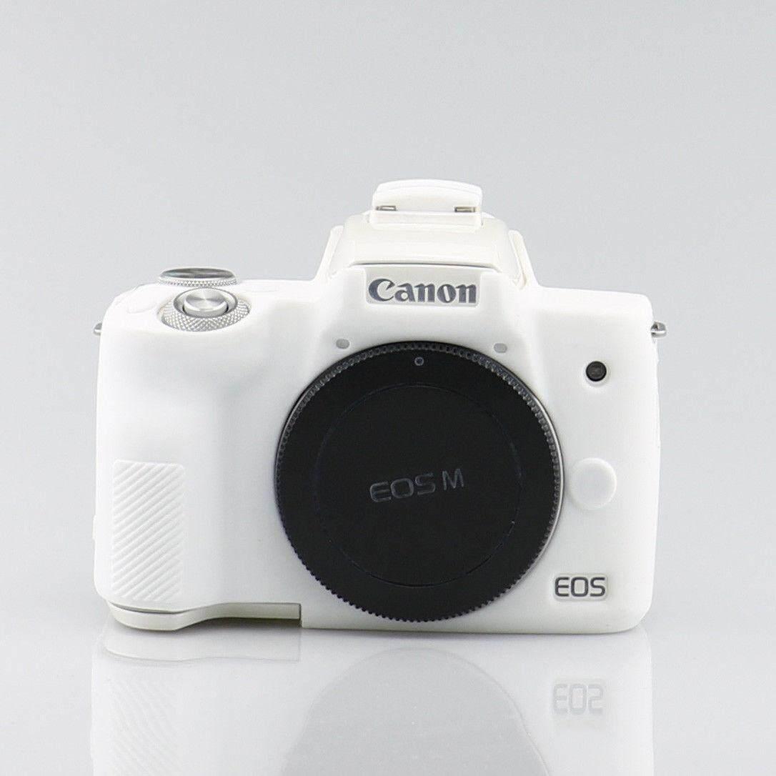 Selens Camera Soft Silicone Rubber Protector Skin Case Cover for Canon Eos M50