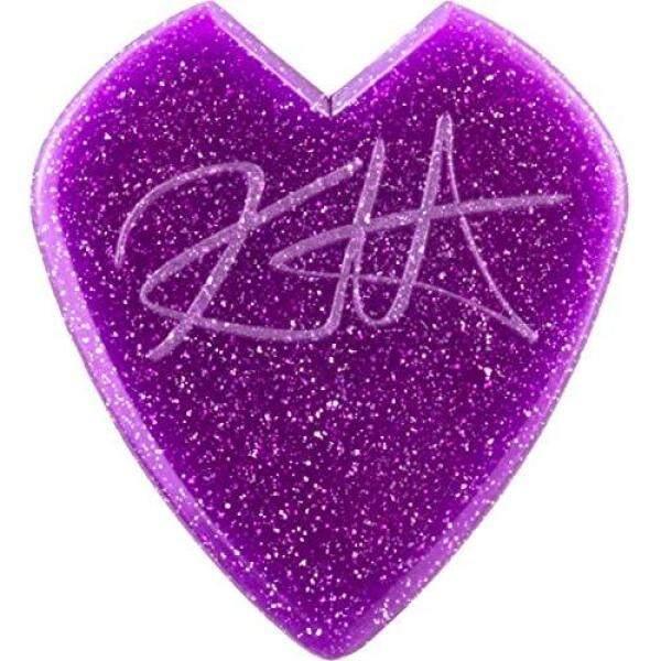 Jim Dunlop Kirk Hammet JazzIII Purple Sparkle Kirk Hammet Signature Picks, 24 pieces Malaysia