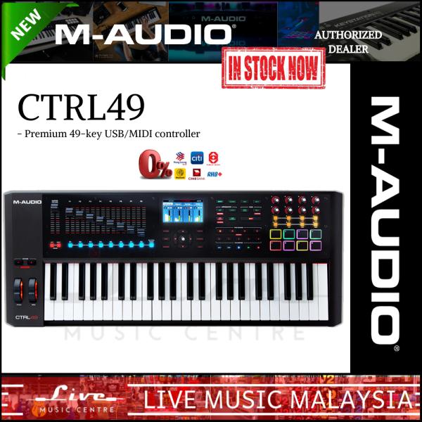 M-Audio CTRL49 - 49-Key USB/MIDI Smart Controller with Full-Color Screen (CTRL-49/CTRL 49) Malaysia