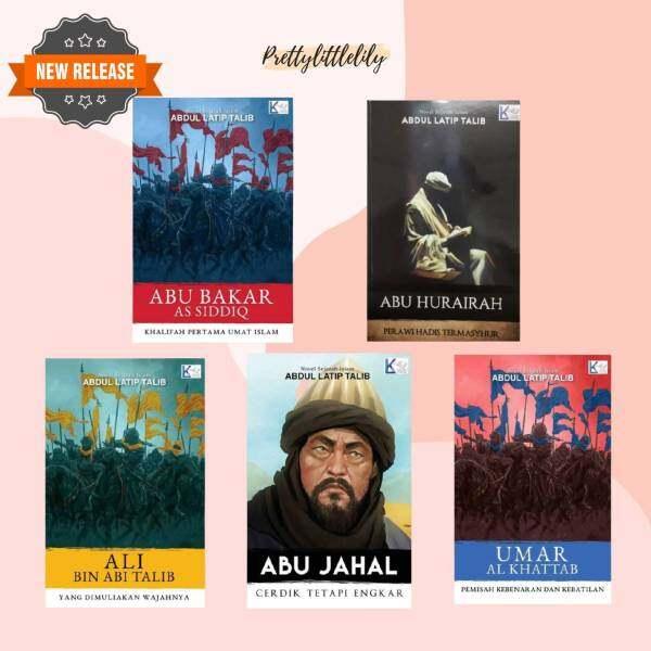 BUKU AGAMA | ABU BAKAR AS-SIDDIQ, ABU HURAIRAH, ALI BIN ABI TALIB, ABU JAHAL, UMAR AL KHATTAB BY ABDUL LATIB ALI Malaysia