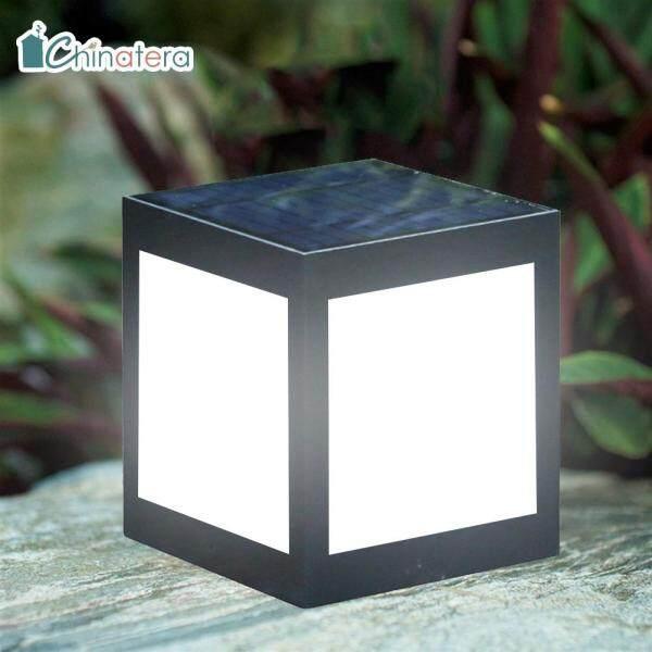 [Chinatera] Đèn Trụ LED Chạy Bằng Năng Lượng Mặt Trời ABS Chống Nước Cho Sân Vườn Ngoài Trời Biệt Thự