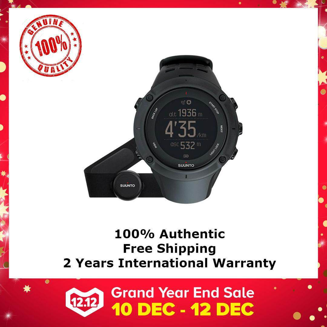 Suunto Watches For Men Women With Best Price In Malaysia Ambit3 Peak Sapphire Black Hr Gps Watch Outdoor Sports
