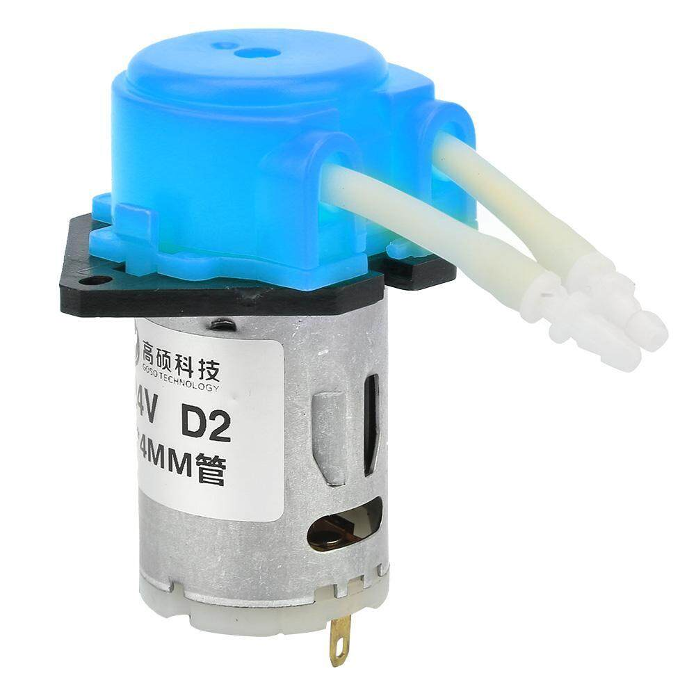 D-2 2*4mm DC 24V DIY Peristaltic Liquid Pump Dosing Pump for Laboratory Analytic