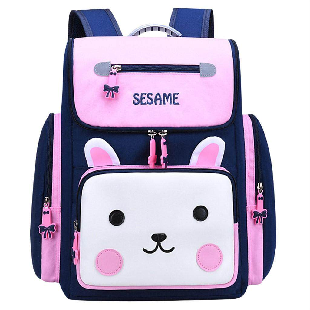 ◇ School Backpack 1-3-6 Grade Cartoon Childrens Ridges to Reduce the Shoulder Bag Free Shipping