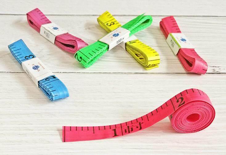 Color tape measure