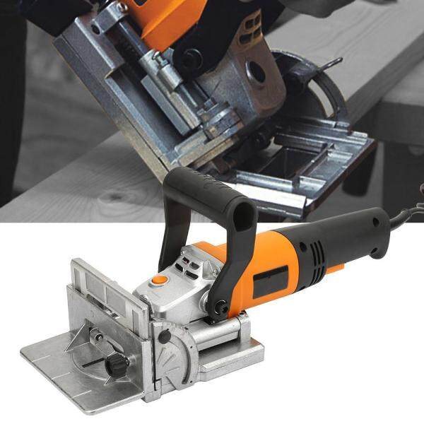 【Ready Stock】760W Electric Wood Biscuit Joiner Woodworking Tenoning Machine Groover 220V EU Plug
