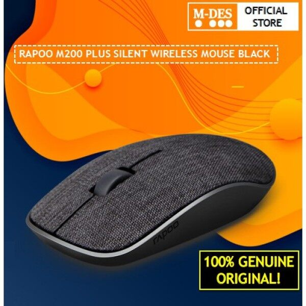 Rapoo M200 Plus Silent Fabric Version 2.4G Wireless Bluetooth Multi Mode Mouse [2 Years Warranty] Malaysia