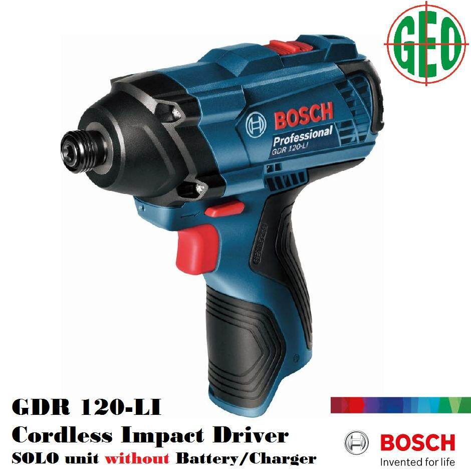 Bosch GDR 120-LI 12V Cordless Impact Driver Solo Unit without Battery & Charger [ GEOLASER ]