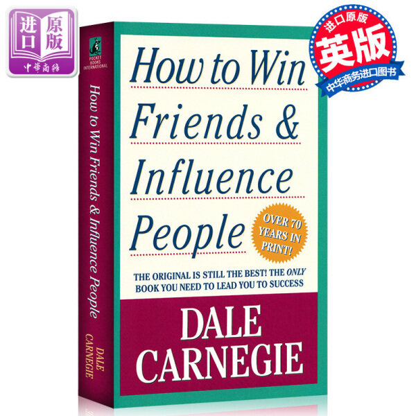 [well] original dale Carnegie human weaknesses original interpersonal communication skills in English How to Win Friends and Influence People