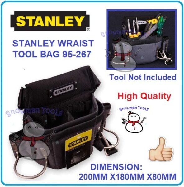 HIGH QUALITY STANLEY WRAIST TOOL BAG TOOLS ORGANISER UTILITY STORAGE 95267 95-267 BAGS Fanny Bags Kit Hardware DIY BOX BAG BAGS