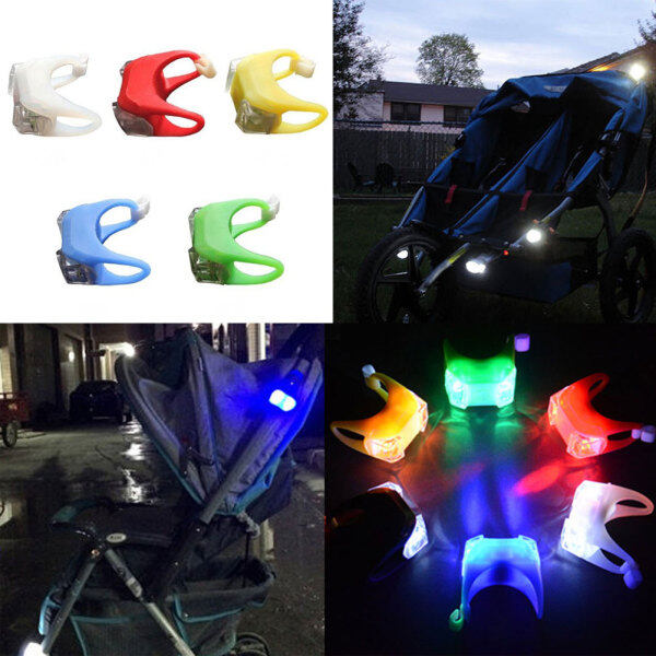 A Accessories Stroller Outdoor Night A Stroller Light Infant Prams Accessories Hook Waterproof Security Alert LED Flash Singapore