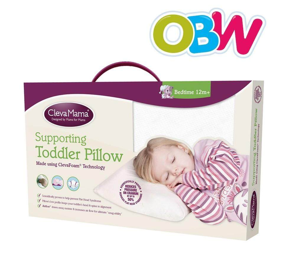 Clevamama - Cleva Foam Toddler Pillow (+12 Months Onwards) By Onebabyworld.