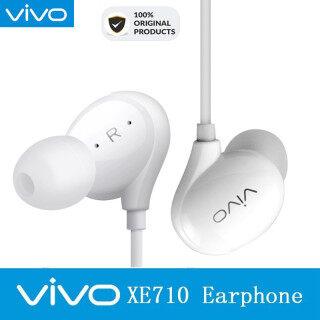 Tai Nghe Vivo Xe710 Chính Hãng Cắm 3.5 Mm Với Giao Diện Type-C Tai Nghe Kiểu Bạc Đen Vàng Cho Vivo X9plus X20 X21 X23 NEX thumbnail