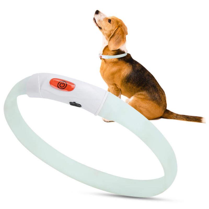 Maelovi Đa Chức Năng Đèn LED Marquee Vật Nuôi Có Thể Điều Chỉnh An Toàn Có Thể Sạc Lại Chống Mất Cổ Áo Sạc USB Cho Mèo Chó Nhỏ Đầy Màu Sắc Đèn