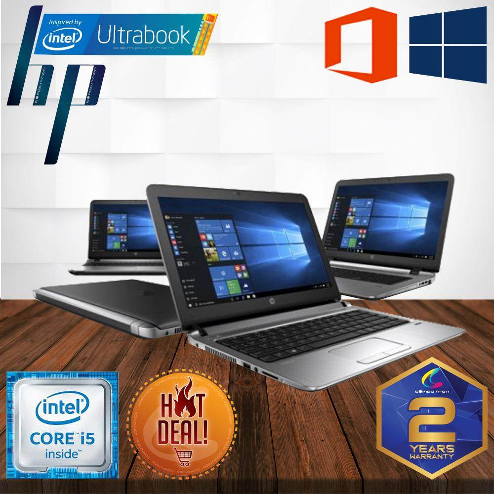 HP PROBOOK 430 G3 6TH GENERATION [ CORE I5-6200U/ 8GB DDR3L/1TB HDD / 13.3-INCH/ W10PRO GENUINE/ 2 YEAR WARRANTY ] LAPTOP Malaysia