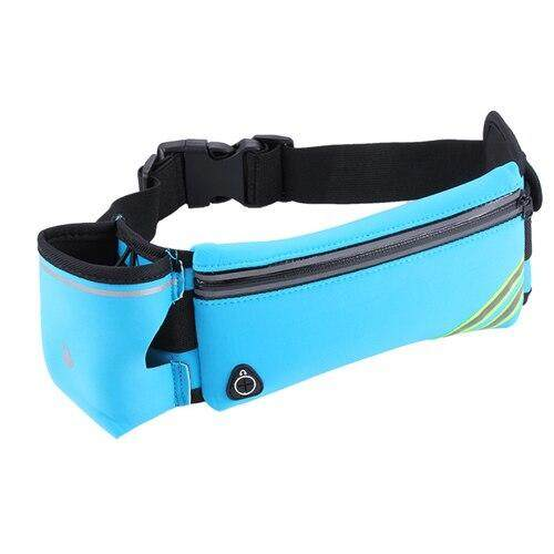 NEWBOLER Men's Running Fanny Pack Sports Belt Bag Lovers Walking Camping Cycling GYM Waist Bags Phone Holder Running Accessories