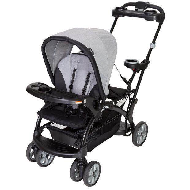 The Original Baby Trend Sit N Stand® Ultra Double Tandem Stroller And Flex Lock Car Seat By Mamakiddies.