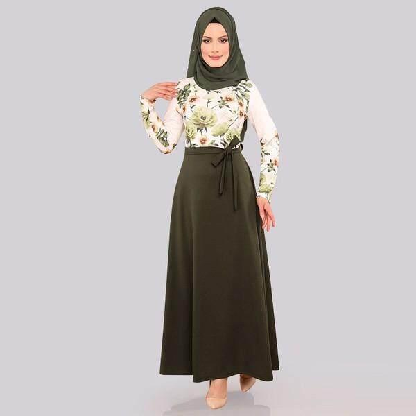 c66c91895d7 Women Maxi Dress Baju Raya Muslim Wear Jubah Muslimah Kurung
