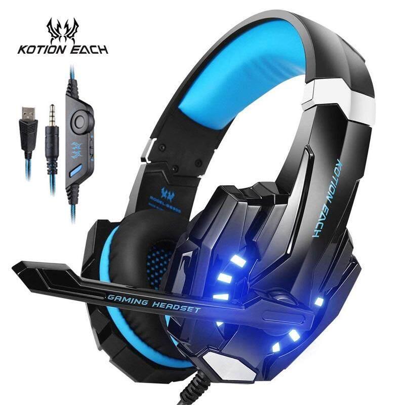 9e0325328e5 KOTION EACH Pro G9000 3.5mm USB Gaming Headset Stereo Gamer Headphone With  Mic LED Light