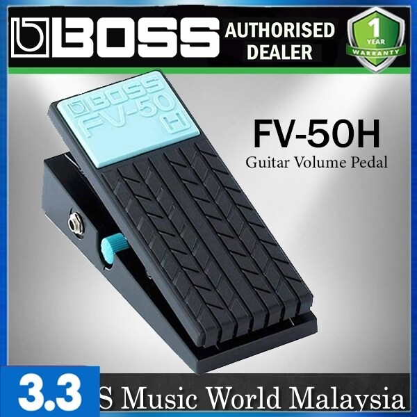 BOSS FV-50H Guitar Volume Control Pedal Stereo Impedance Pedal (FV50 FV50H) Malaysia