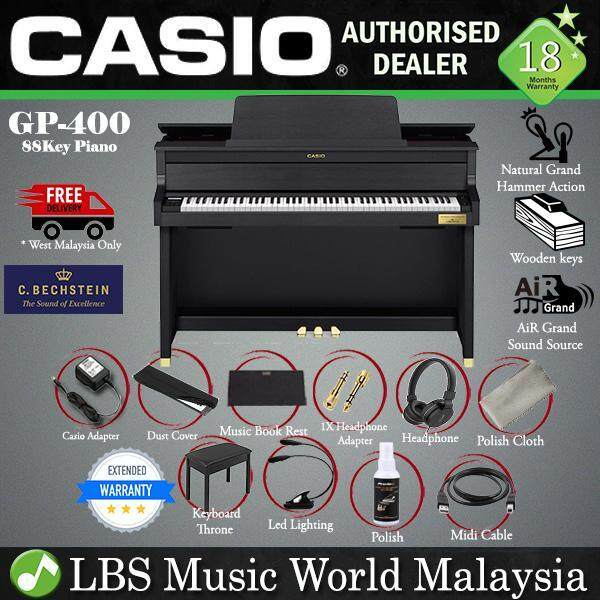 Casio GP-400 88 Key CELVIANO Grand Hybrid Digital Piano (GP400 GP 400) Malaysia