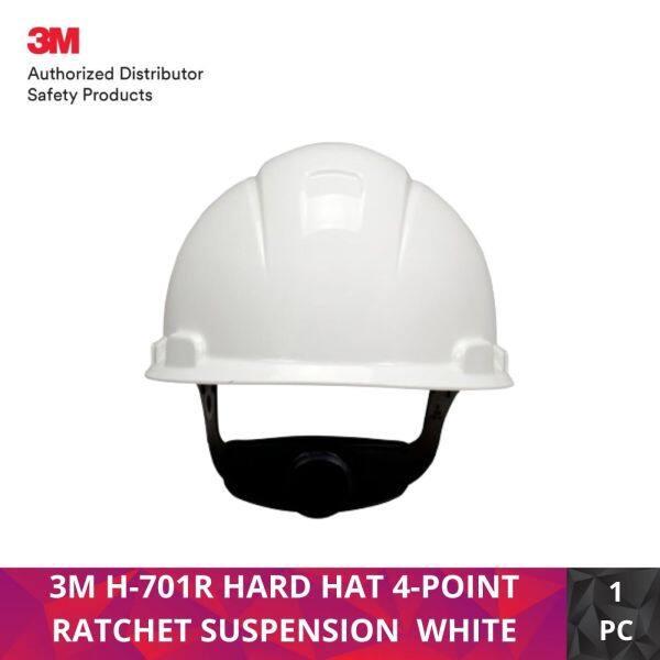 3M H-701R HARD HAT 4-POINT RATCHET SUSPENSION WHITE
